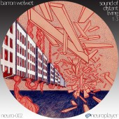NEURO-002: Barron Welwet - Sound of Distant Living - Parts 1 to 3 (CD)